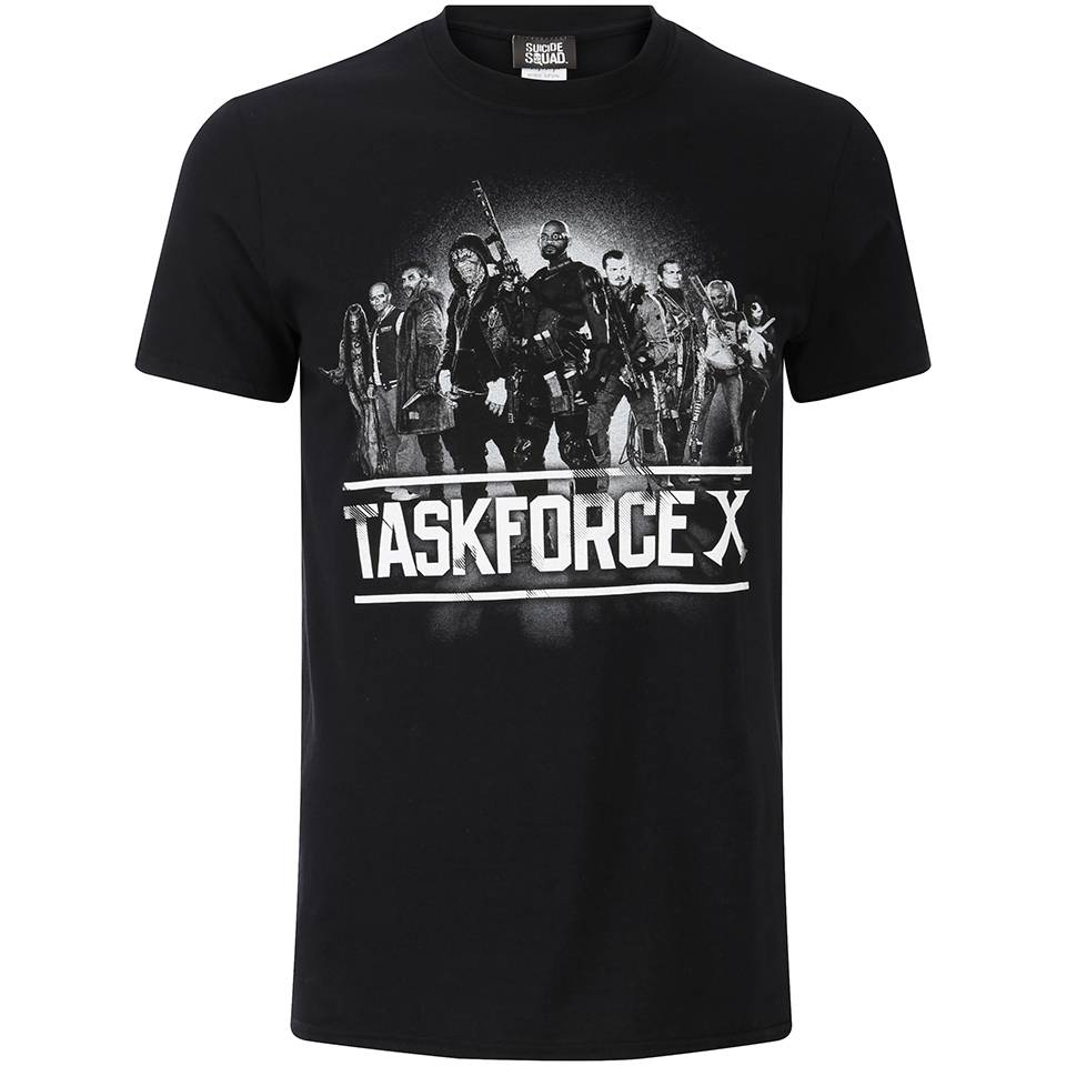Geek Clothing DC Comics Men's Suicide Squad Taskforce X T-Shirt - Black - XXL - Black