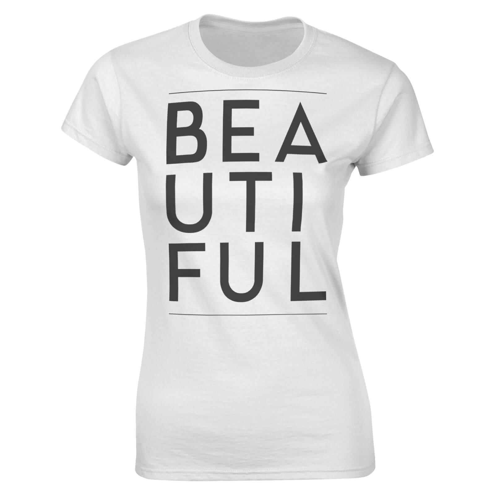 The Valentines Collection Beautiful Women's T-Shirt - White - XL - White