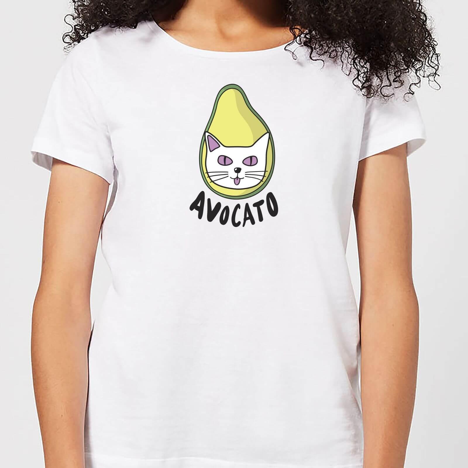The Pet Collection Avocato Women's T-Shirt - White - S - White