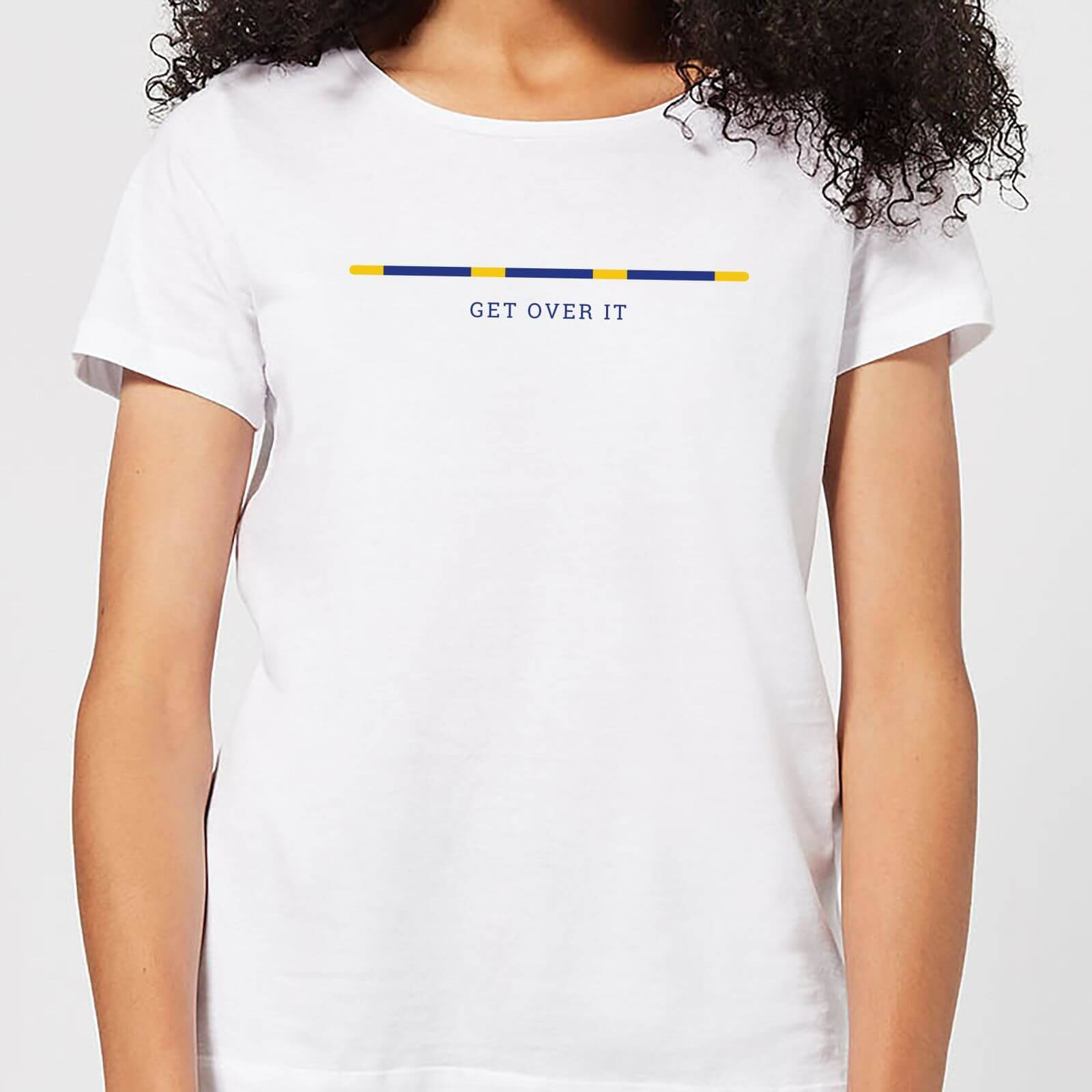 The Horse Collection Get Over It Women's T-Shirt - White - S - White
