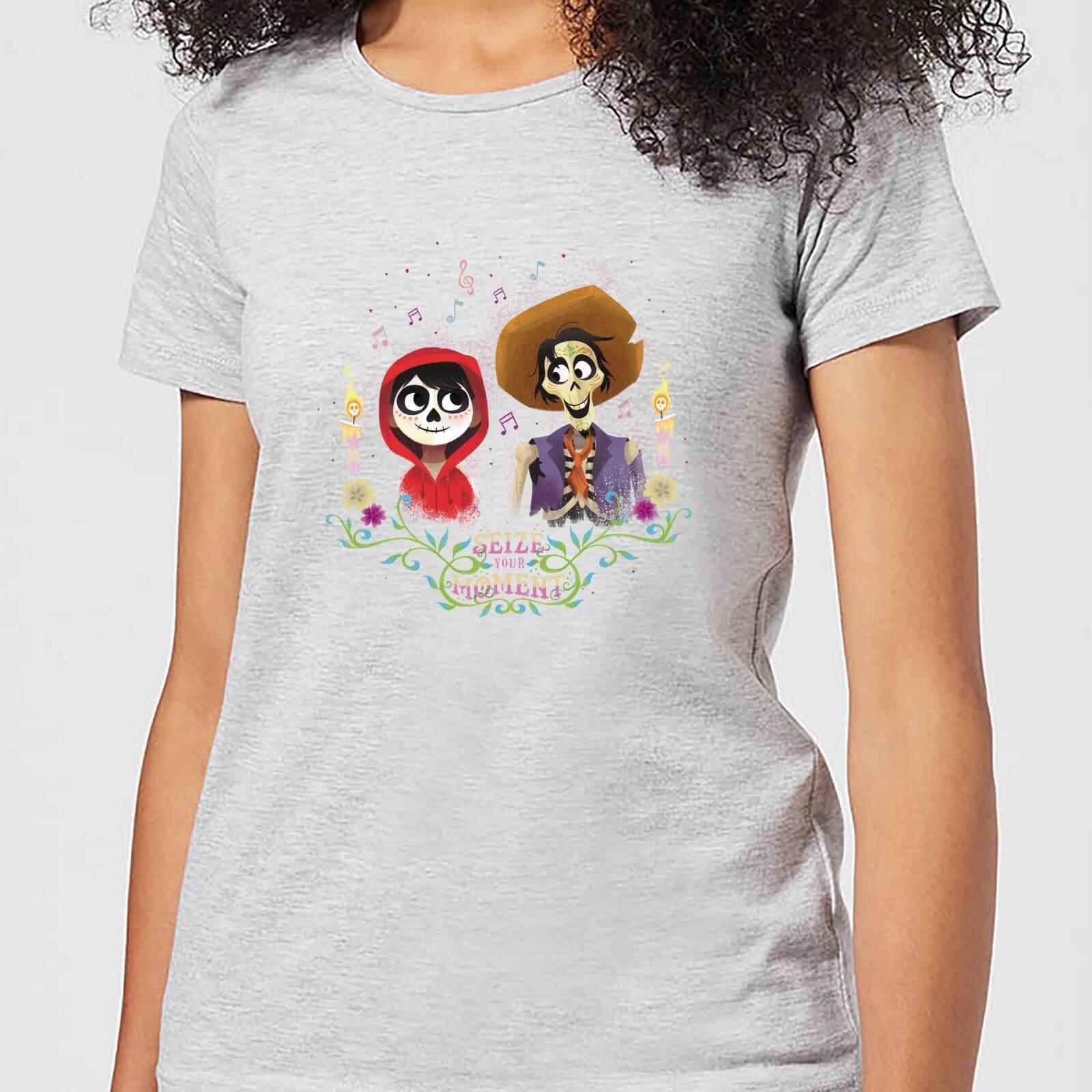 Disney Coco Miguel And Hector Women's T-Shirt - Grey - L - Grey