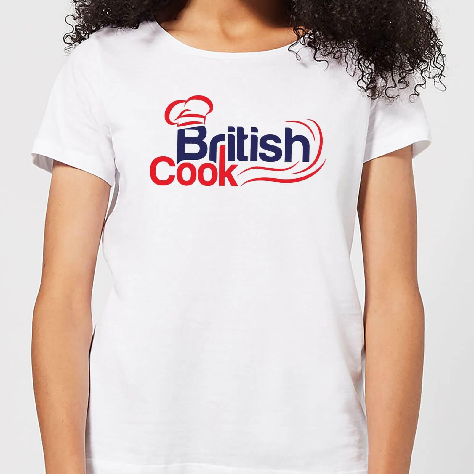 British Cook Red Women's T-Shirt - White - XXL - White
