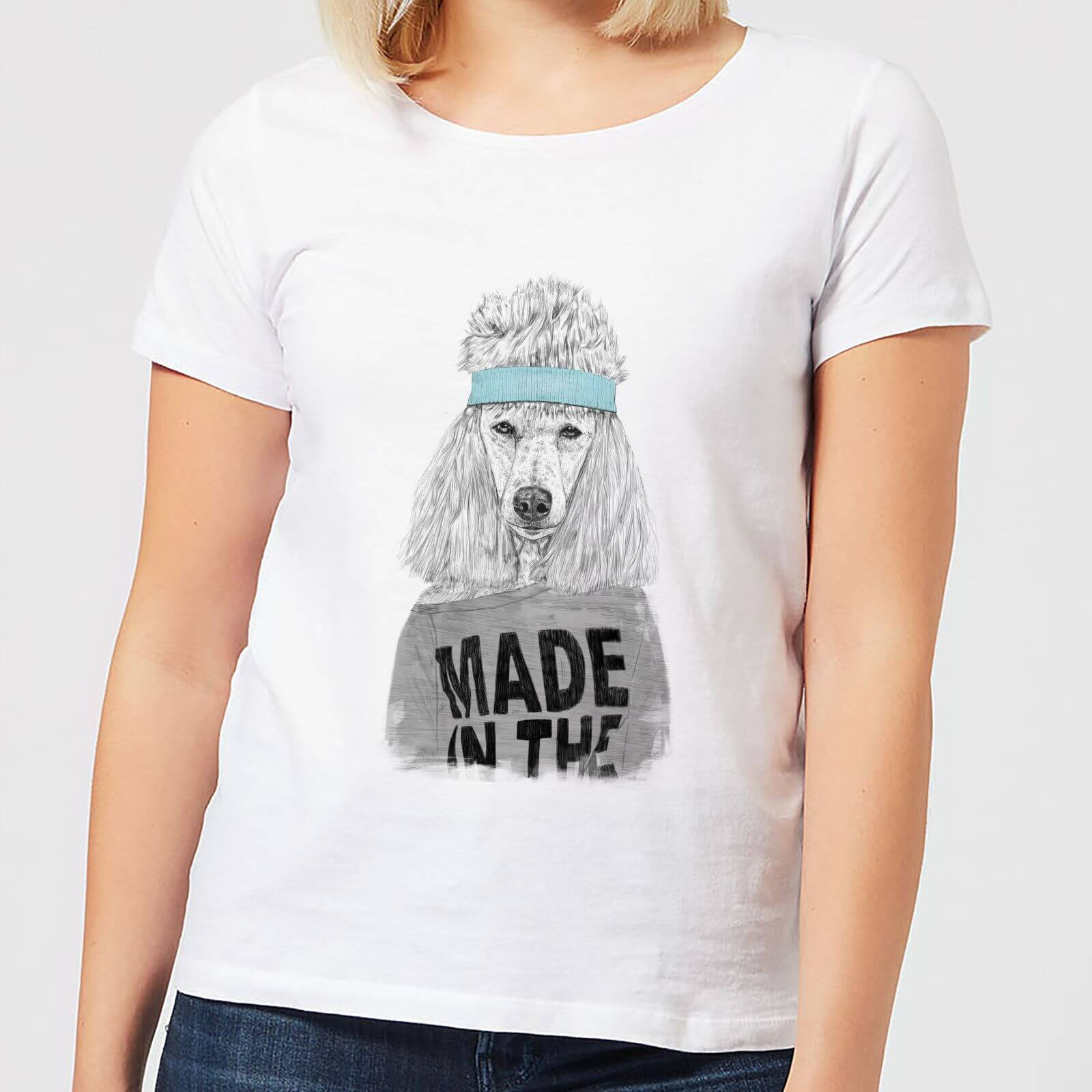 Balazs Solti Made In The 80's Women's T-Shirt - White - 3XL - White