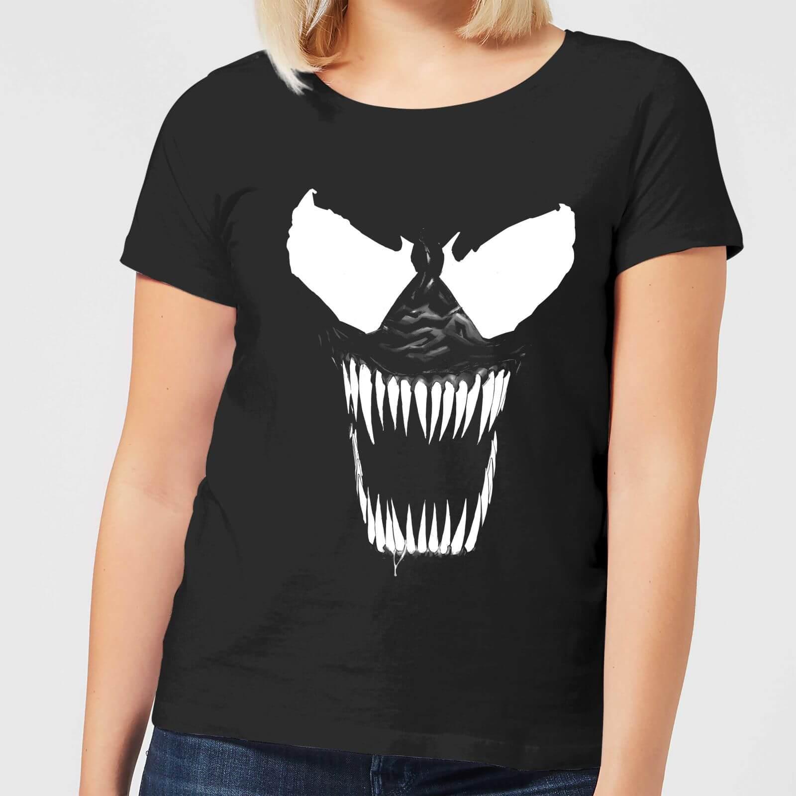 Marvel Venom Bare Teeth Women's T-Shirt - Black - 5XL - Black
