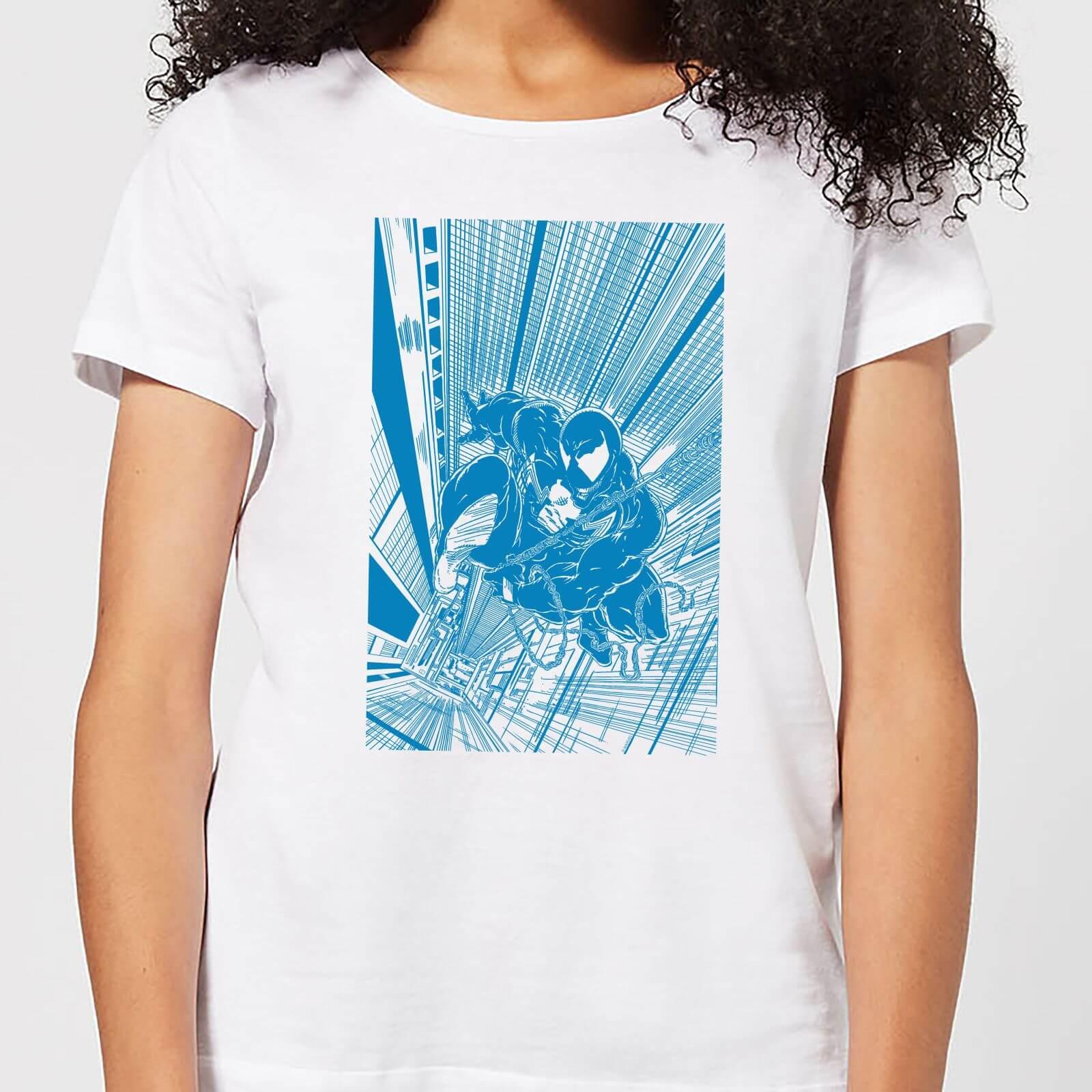 Marvel Venom Comic Panel Women's T-Shirt - White - M - White