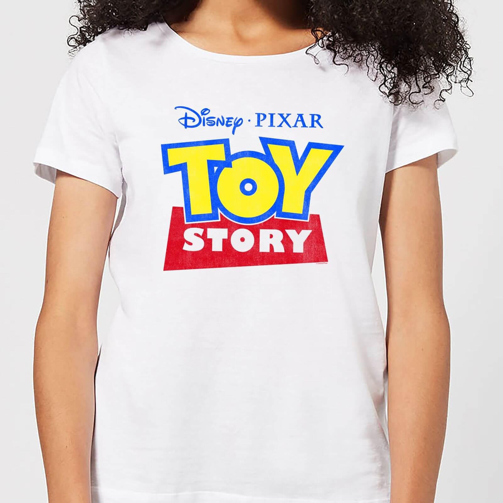 Disney Toy Story Logo Women's T-Shirt - White - XS - White