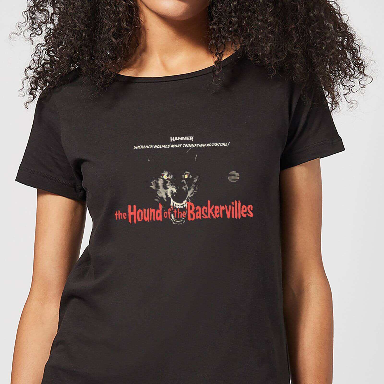 Hammer Horror Hound Of The Baskervilles Women's T-Shirt - Black - 5XL - Black