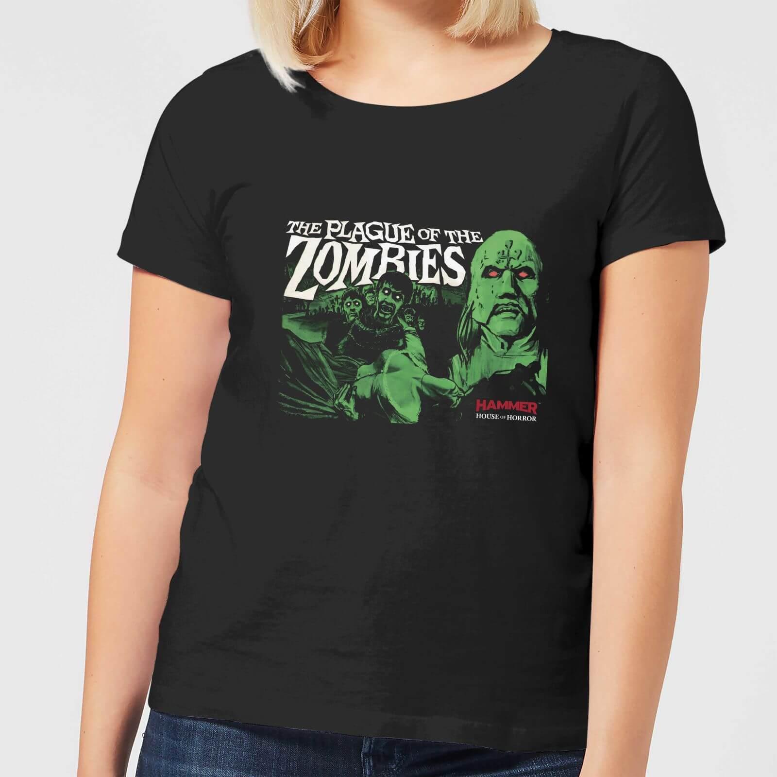 Hammer Horror Plague Of The Zombies Women's T-Shirt - Black - M - Black