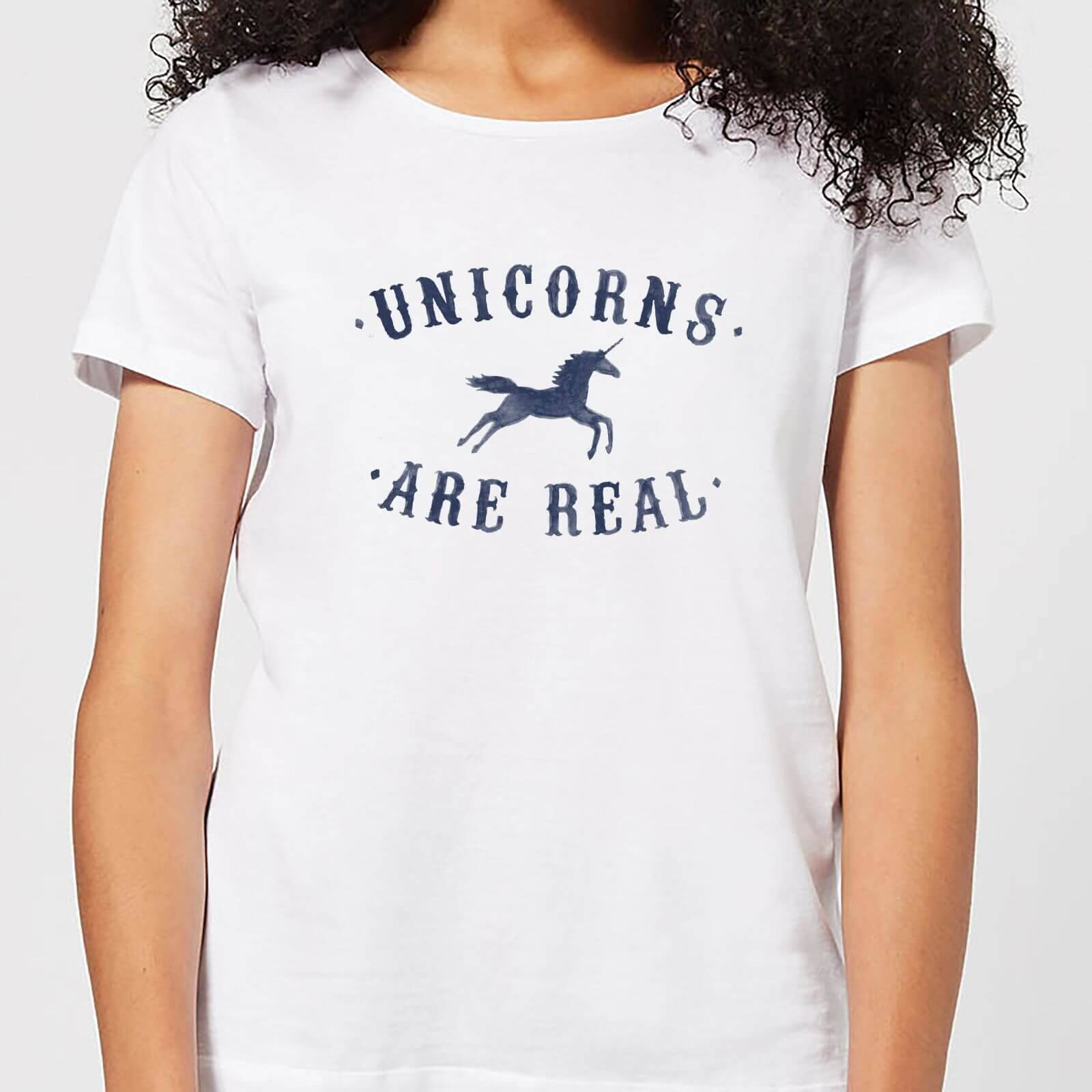 Florent Bodart Unicorns Are Real Women's T-Shirt - White - 4XL - White