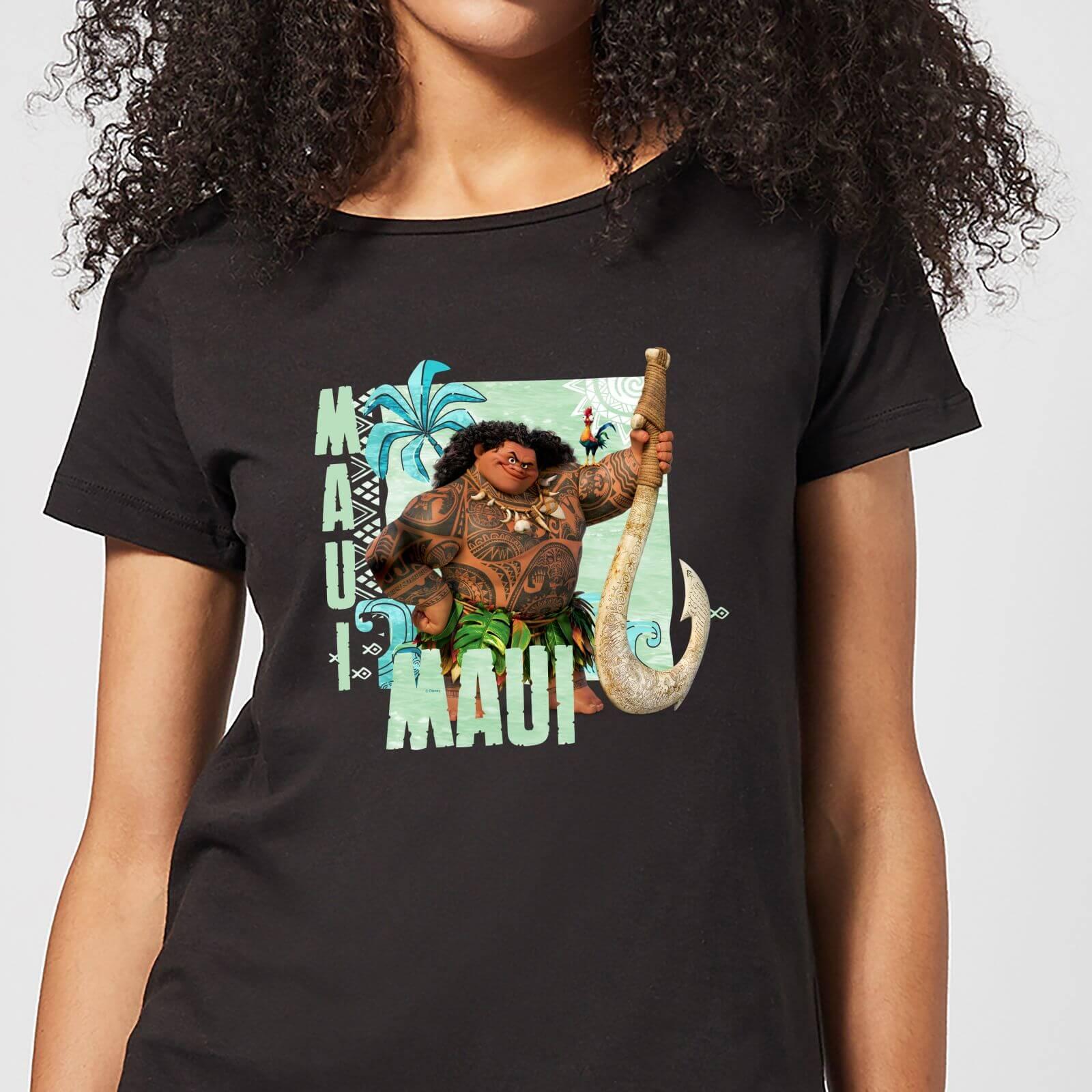 Disney Moana Maui Women's T-Shirt - Black - XS - Black