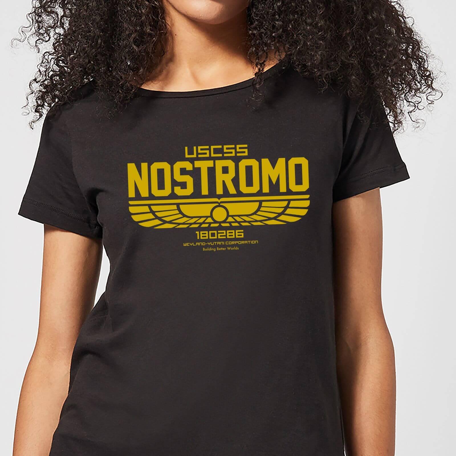 Alien USCSS Nostromo Women's T-Shirt - Black - M - Black