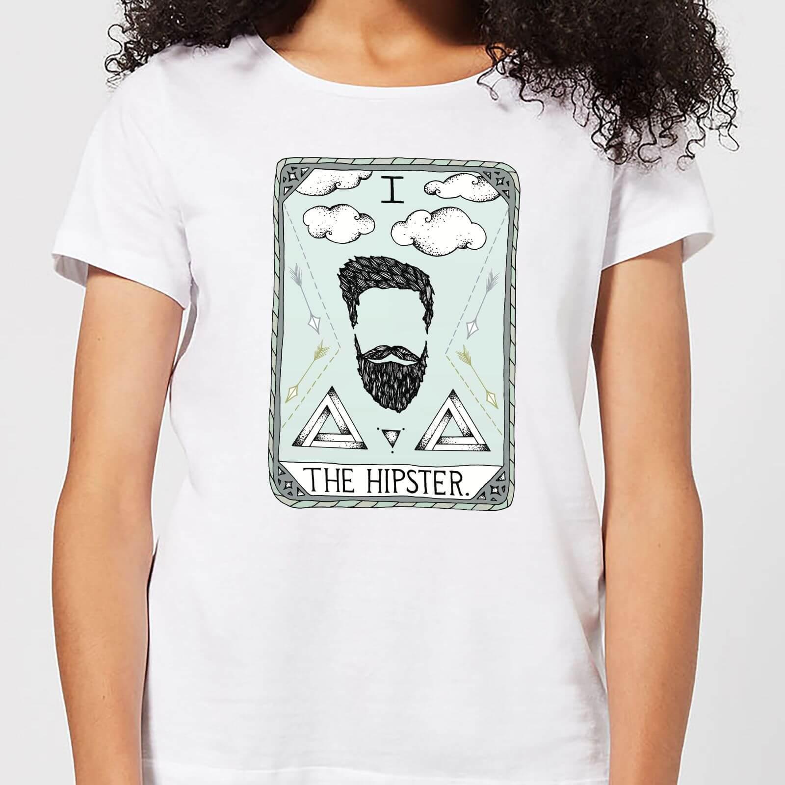 Barlena The Hipster Women's T-Shirt - White - M - White