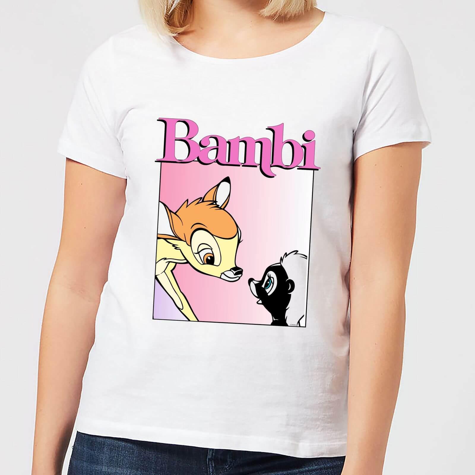 Disney Bambi Nice To Meet You Women's T-Shirt - White - 4XL - White