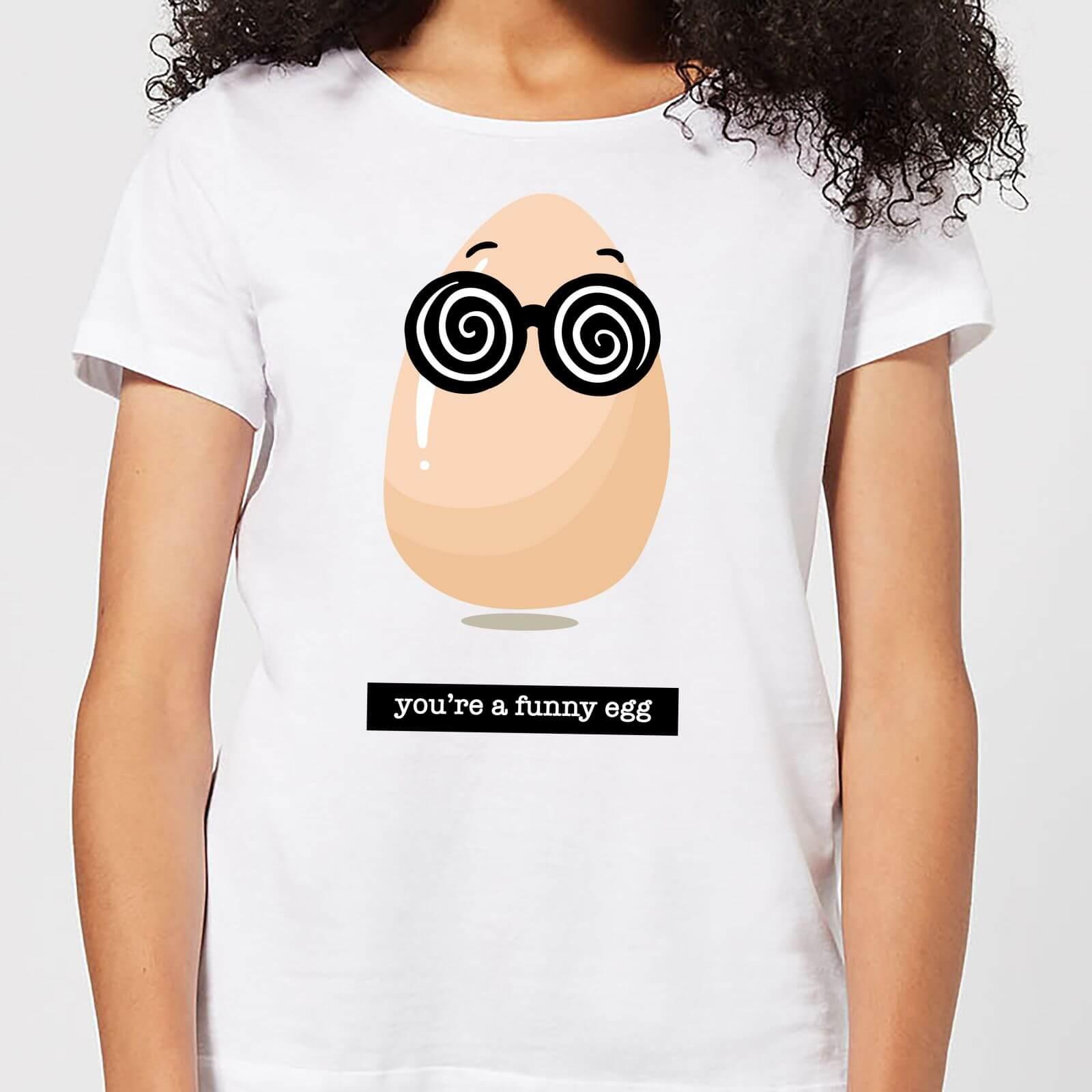 IWOOT You're A Funny Egg Women's T-Shirt - White - 4XL - White