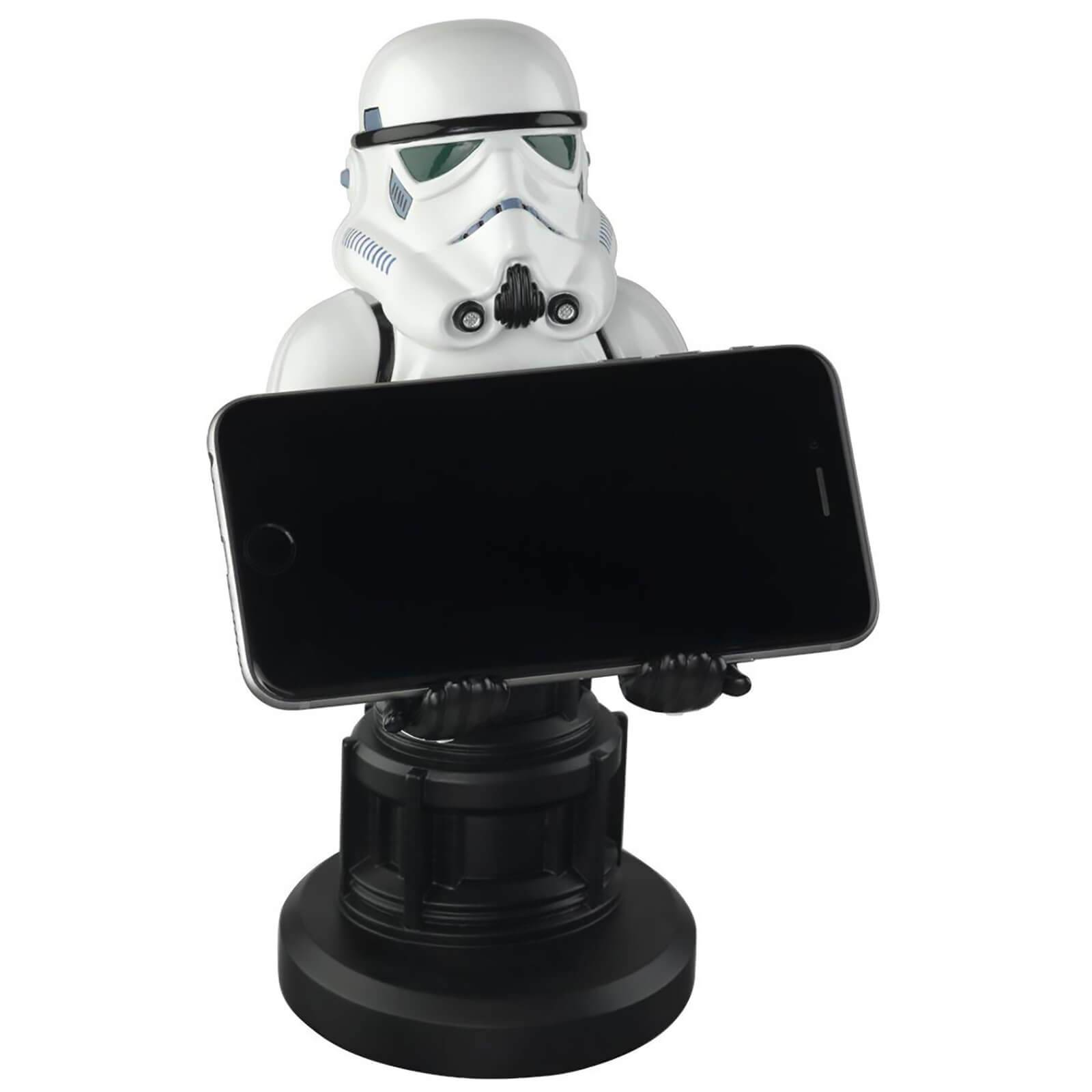 Cable Guys Star Wars Collectable Stormtrooper 8 Inch Cable Guy Controller and Smartphone Stand-
