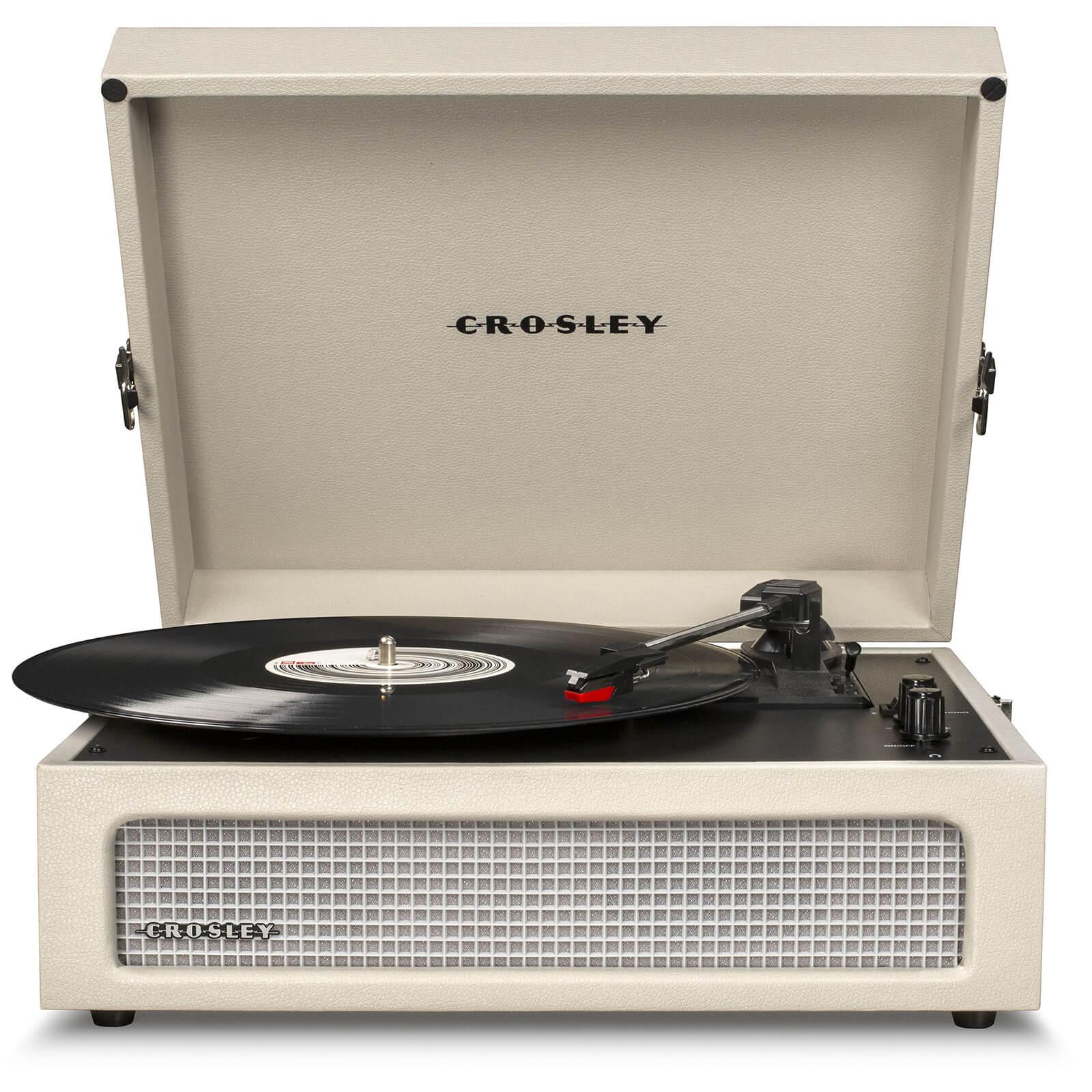 Crosley Voyager Portable Turntable (Dune)-
