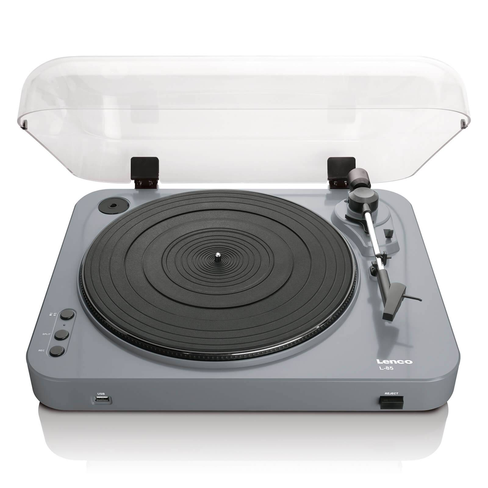 Lenco L-85 USB Turntable with Direct Recording - Grey-