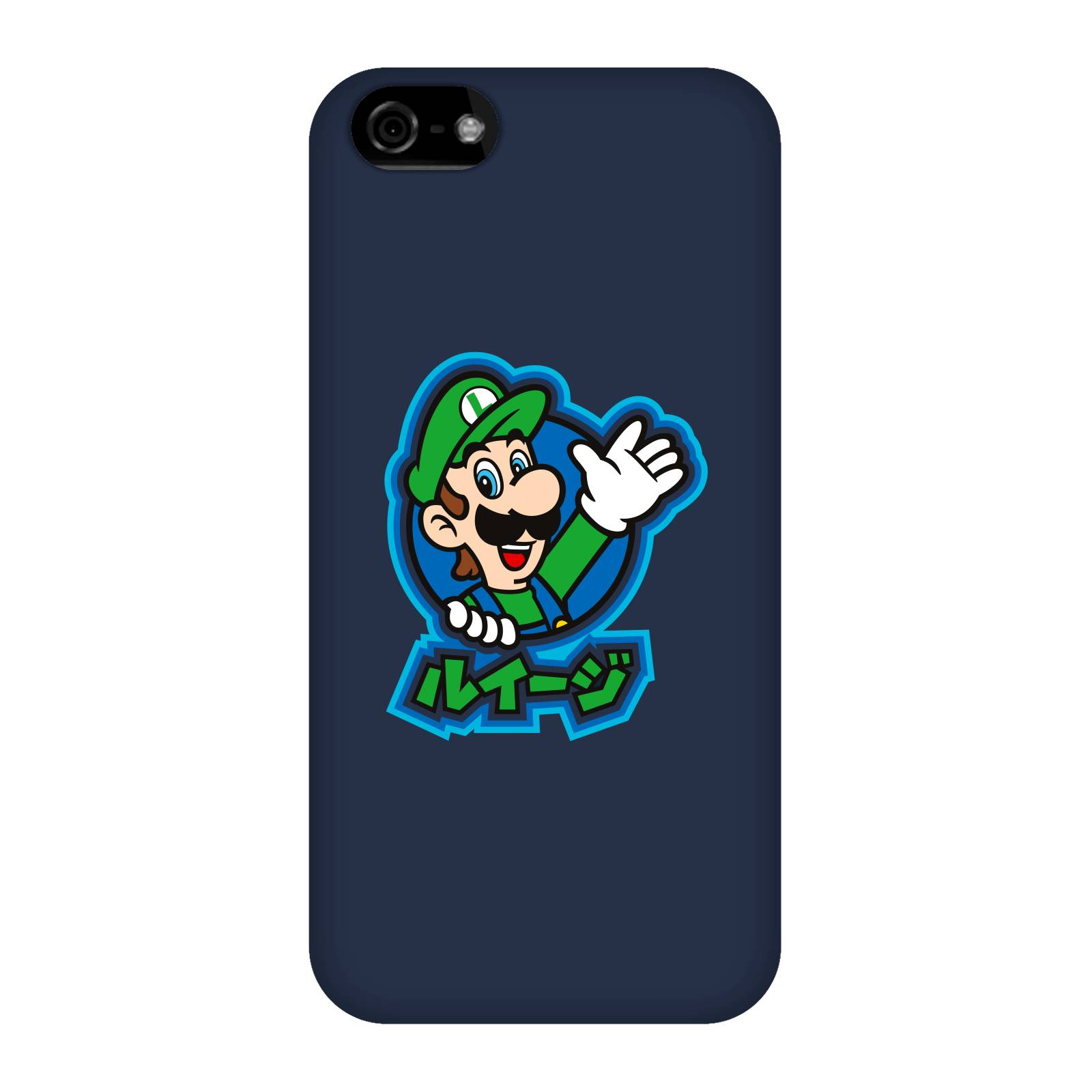 Nintendo Super Mario Luigi Kanji Phone Case - iPhone 5C - Snap Case - Gloss-