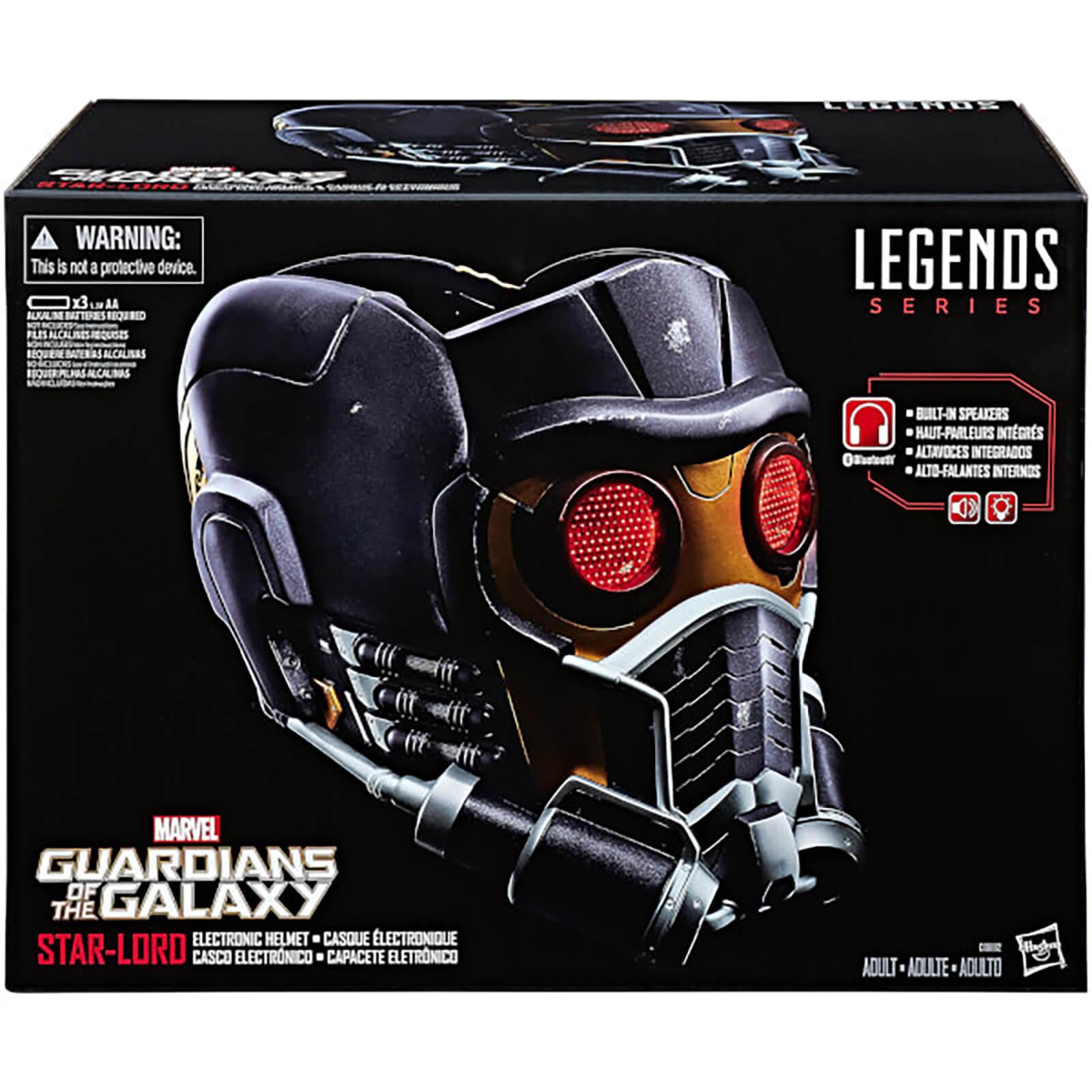 Hasbro Marvel Legends Guardians of the Galaxy Star-Lord Helmet-unisex