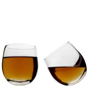 Jeray Whisky Rockers Glasses - 2 pack-male
