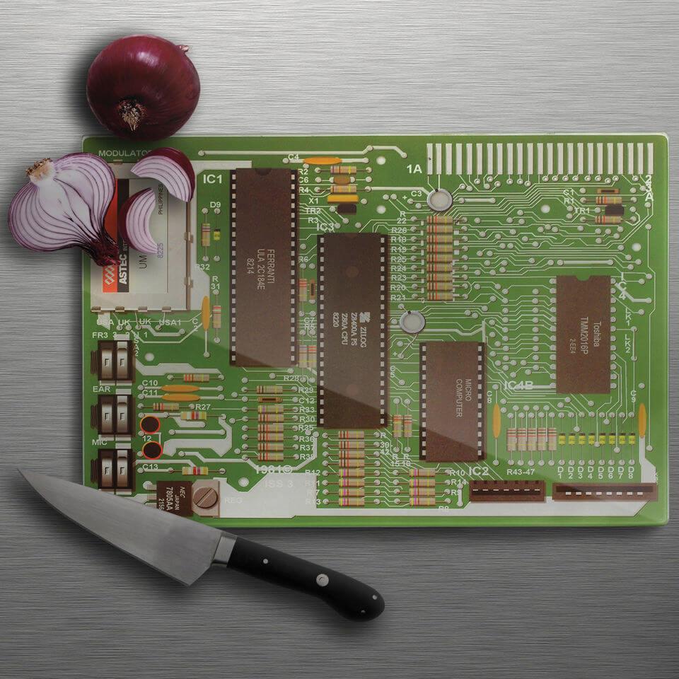 Motherboard Chopping Board-unisex