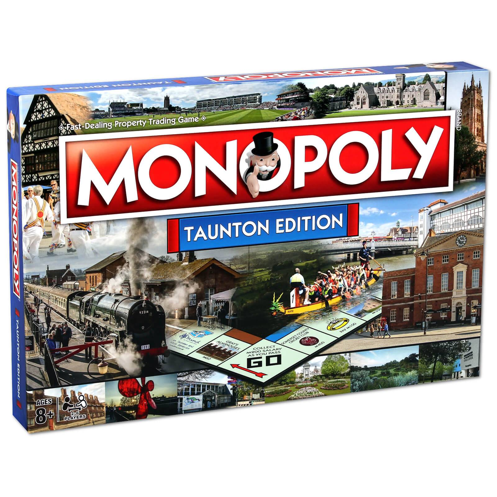 Hasbro Monopoly Board Game - Taunton Edition-unisex