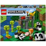 Lego Minecraft: The Panda Nursery Building Set (21158)-unisex