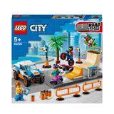 Lego City: Community Skate Park Building Set (60290)-unisex