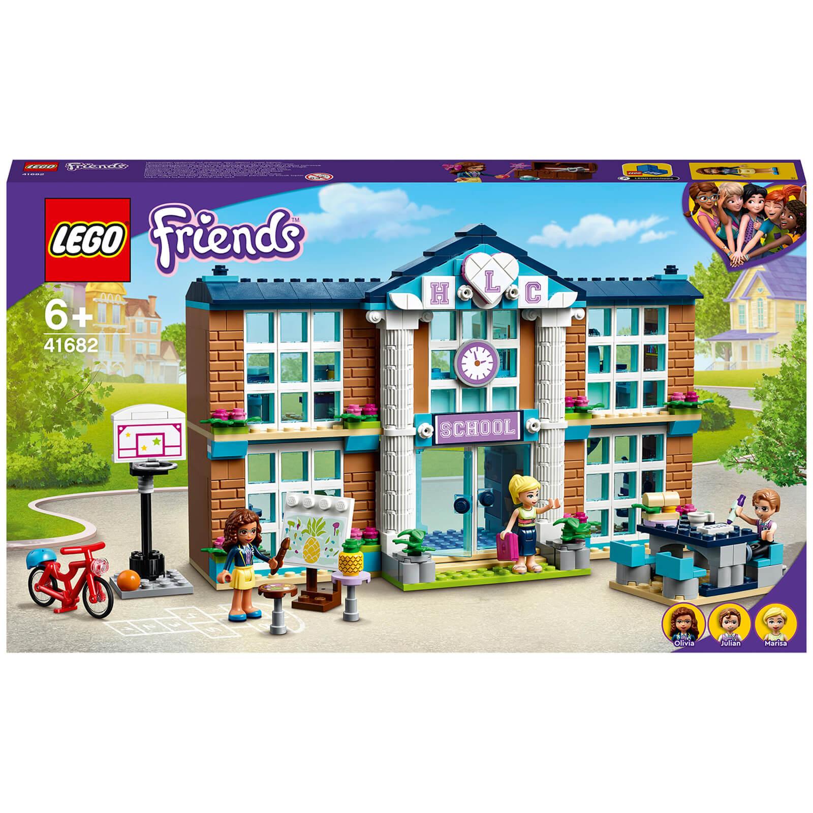 Lego Friends Heartlake City School Construction Toy (41682)-unisex