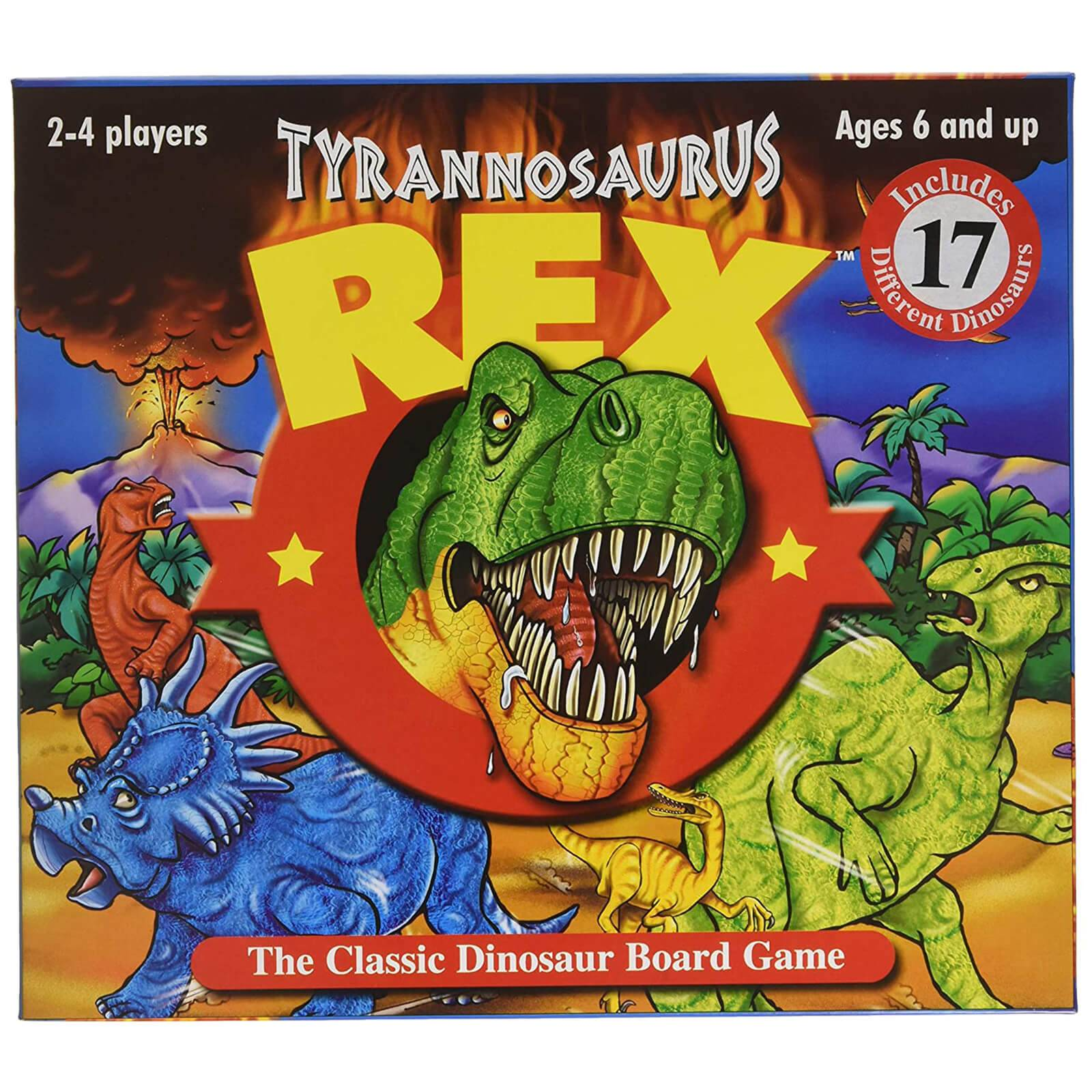 University Games T-Rex Board Game-unisex