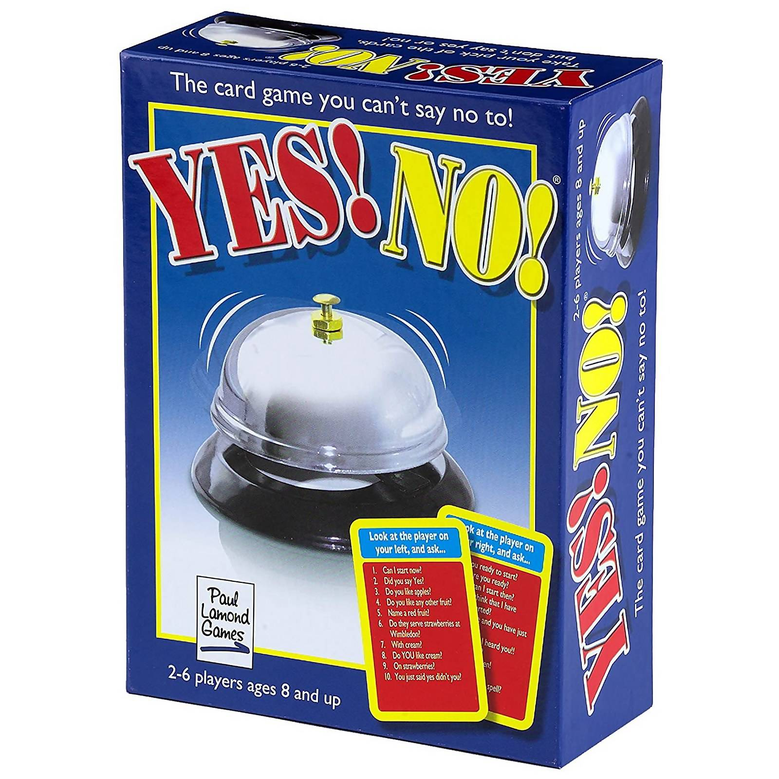 University Games Yes! No! Card Game-unisex