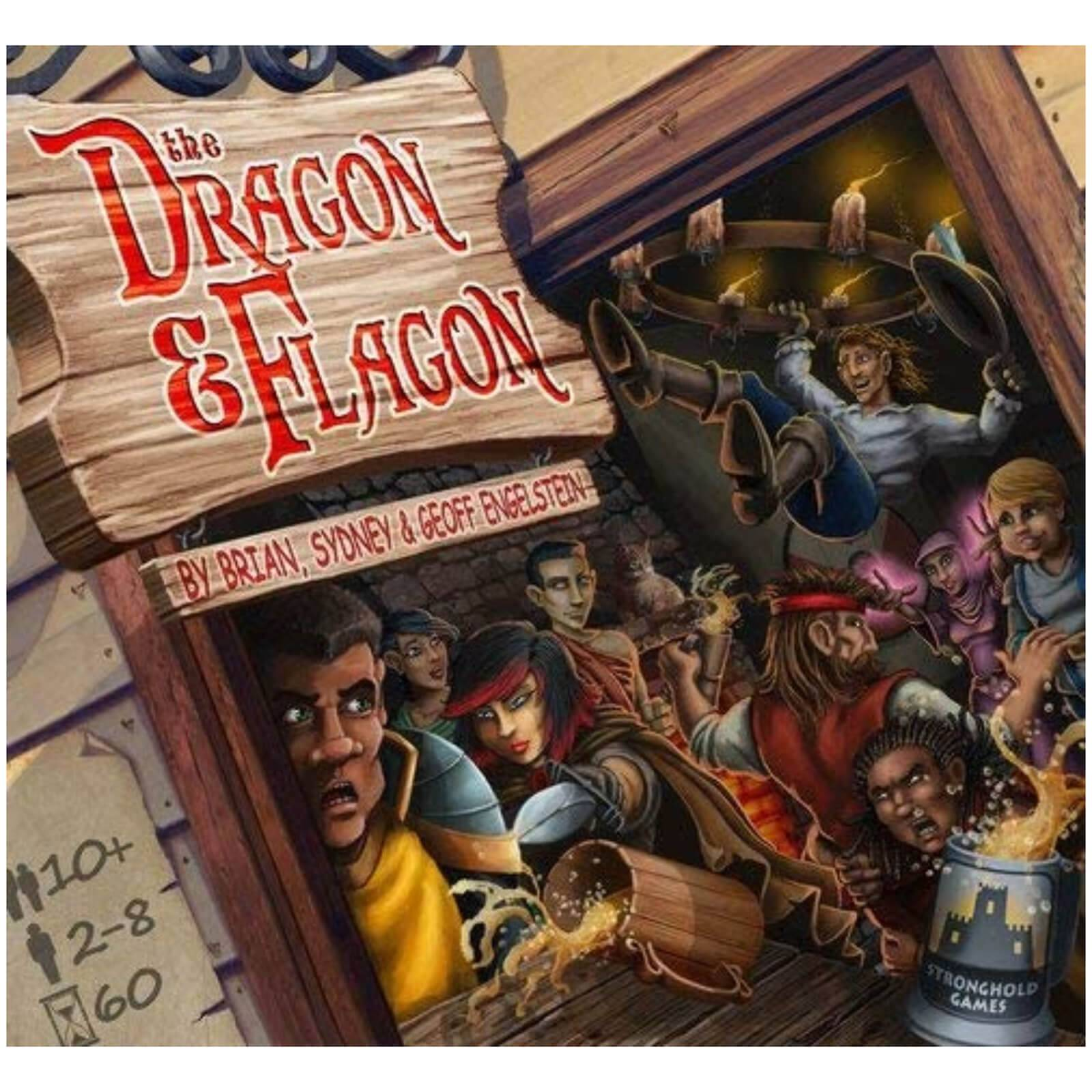 Stronghold Games Dragon and Flagon - Board & Card Game-unisex