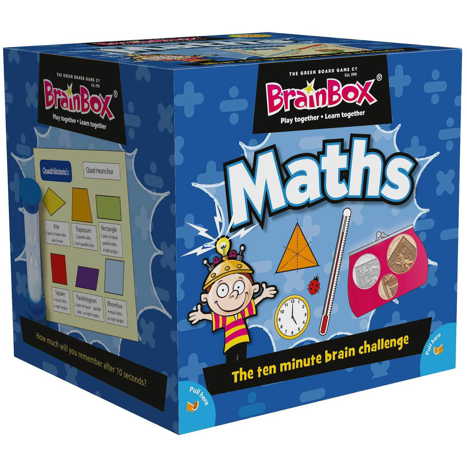 BrainBox Card Game - Maths Edition Refresh (55 cards)-
