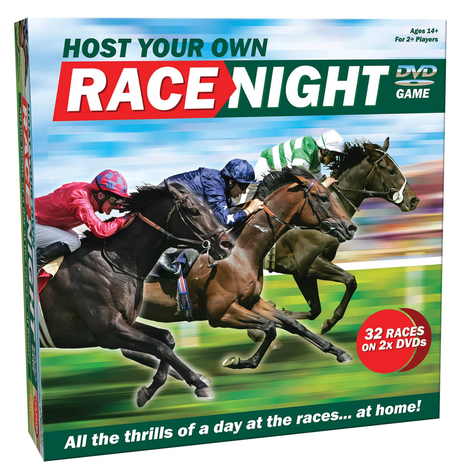Cheatwell Games Host Your Own Race Night Board Game-unisex
