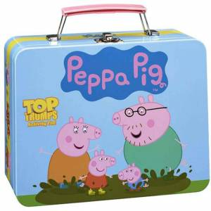 Winning Moves Top Trumps Activity Tin Game - Peppa Pig Edition-unisex