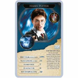 Winning Moves Top Trumps Card Game - Harry Potter Greatest Witches and Wizards Edition-