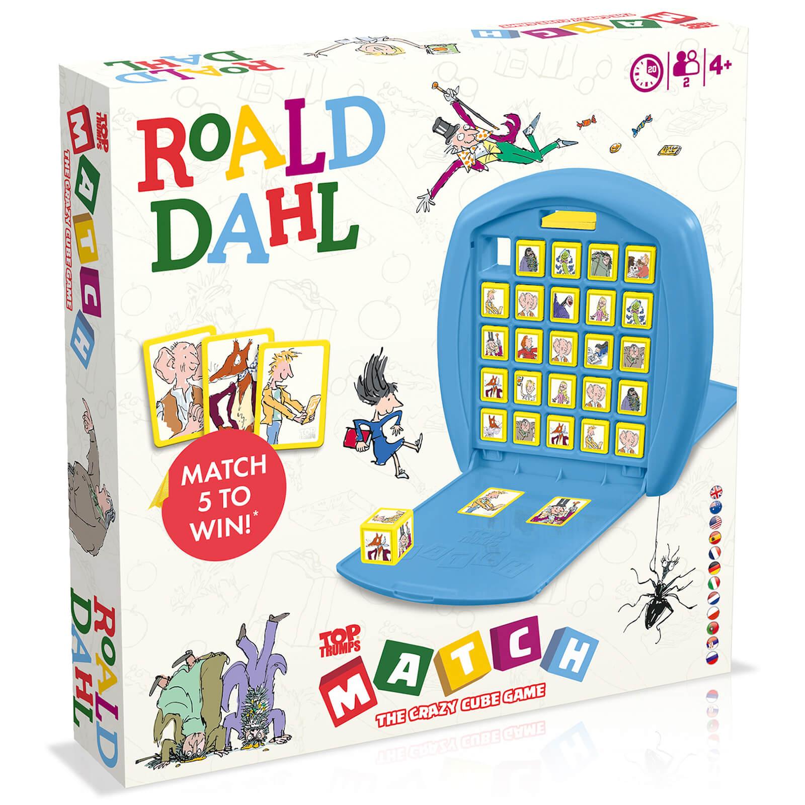 Top Trumps Match Board Game - Roald Dahl Edition-unisex