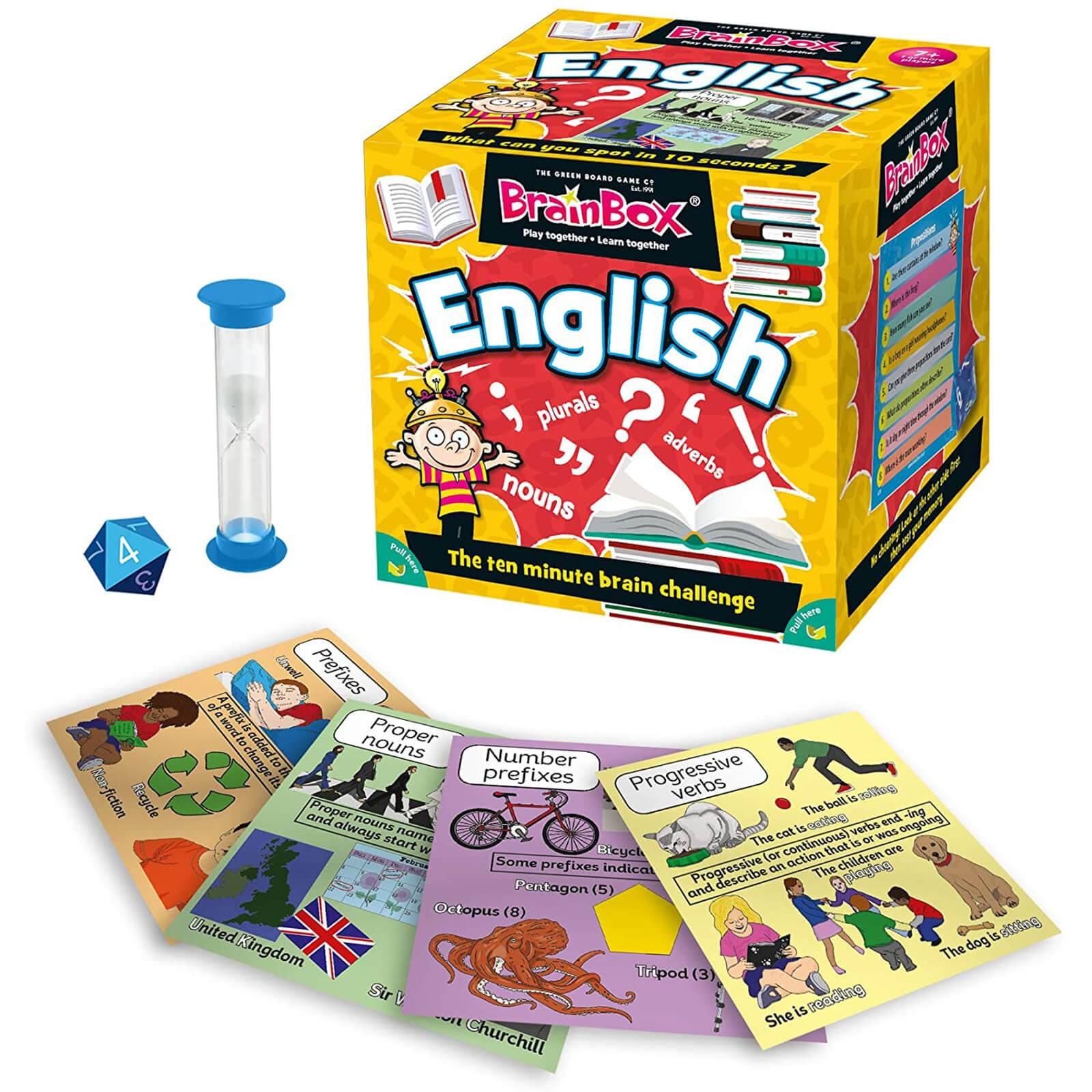 BrainBox Card Game - English Edition Refresh (55 cards)-