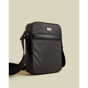 Ted Baker Nylon Flight Bag  - Charcoal - Size: One Size