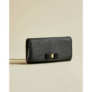 Ted Baker Bow Detail Matinee Purse  - Black - Size: One Size