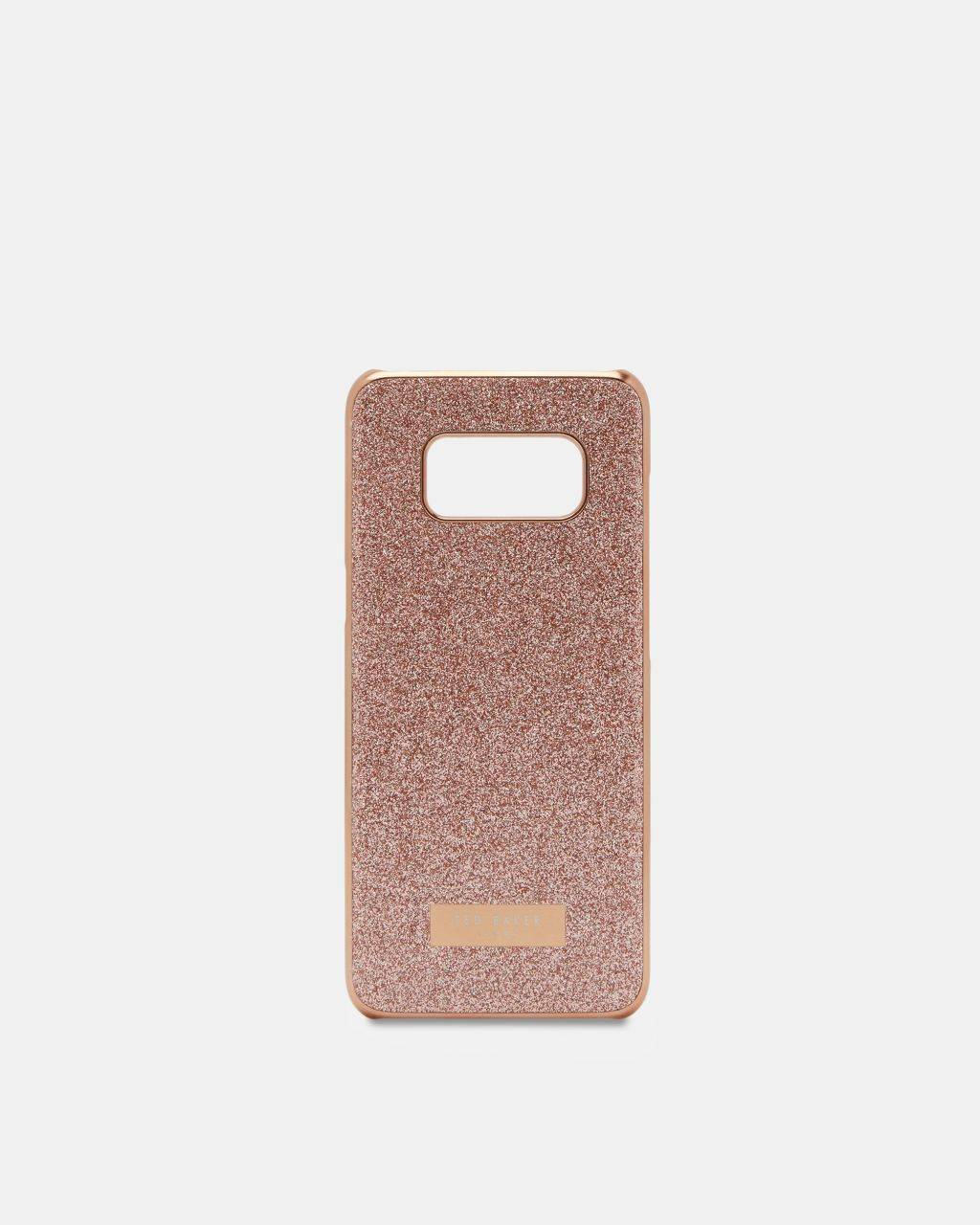 Ted Baker Glitter Samsung S8 Case  - Rose Gold - Size: One Size