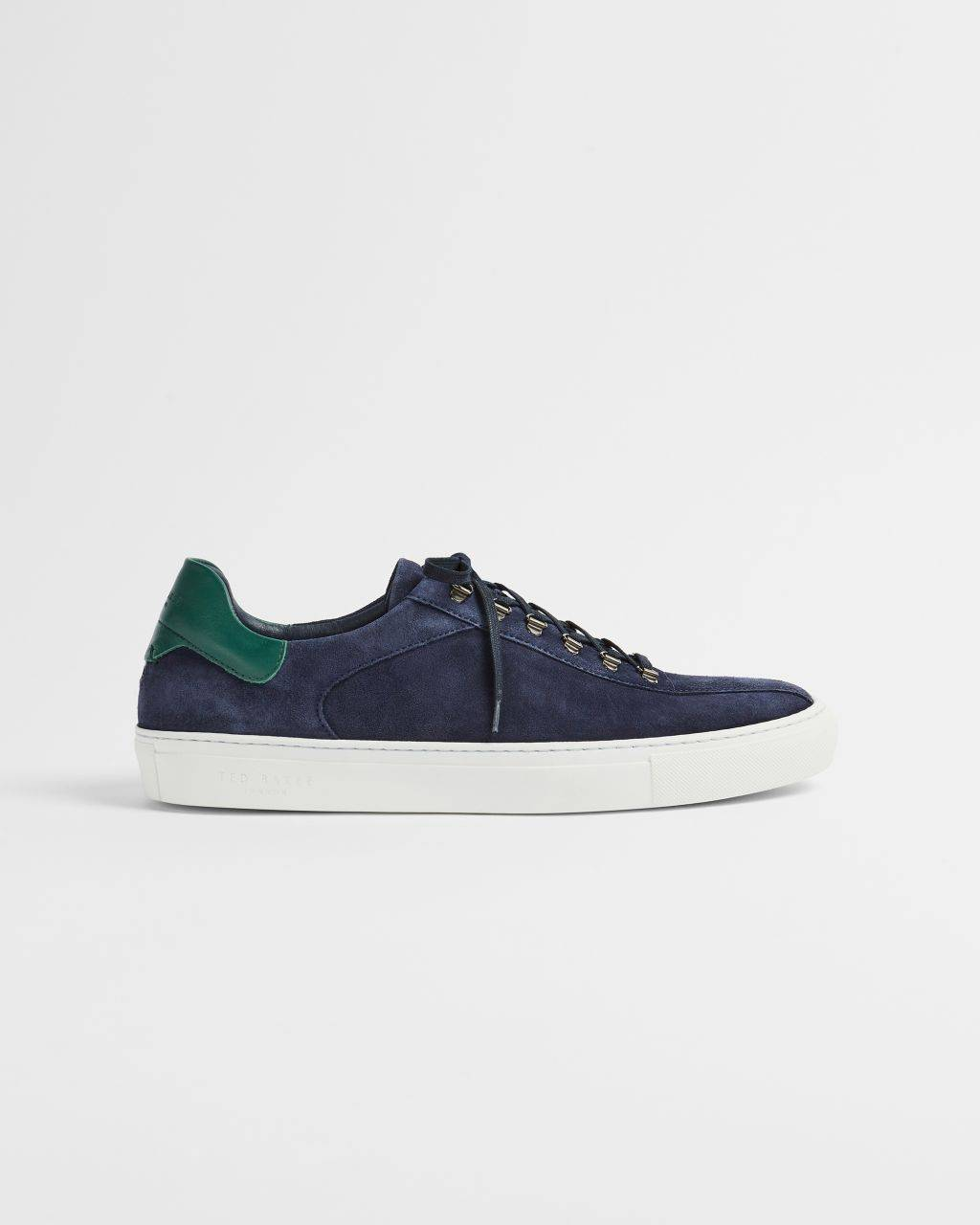 Ted Baker Hiker Lace Suede Trainers  - Navy - Size: UK 8 (EU 42)