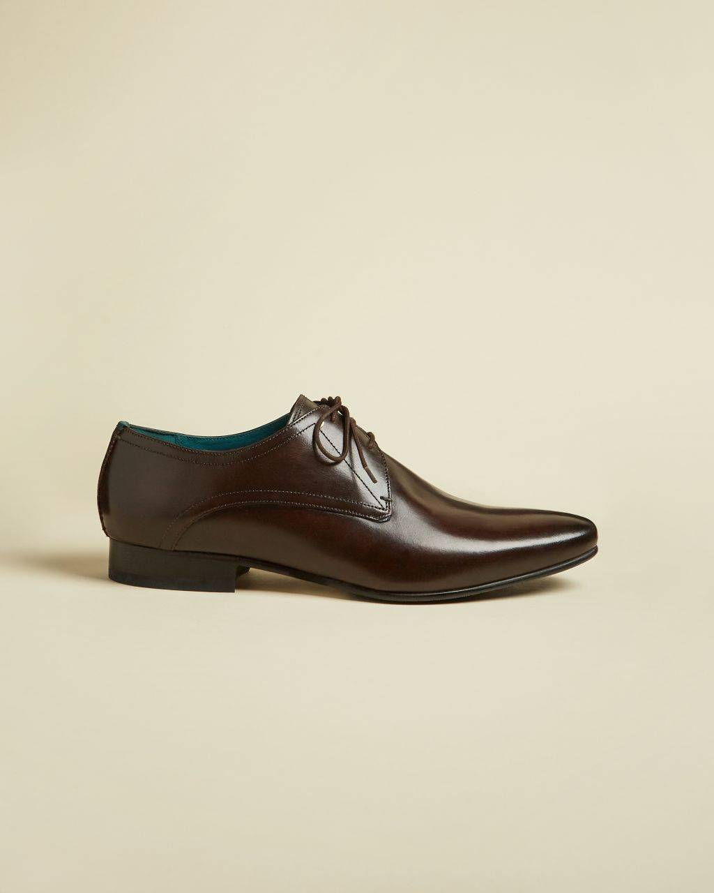 Ted Baker Leather Derby Shoes  - Brown - Size: UK 12 (EU 46)