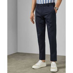 Ted Baker Slim Fit Trousers  - Navy - Size: 32 R