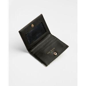 Ted Baker Elderflower Leather Travel Card Holder  - Black - Size: One Size