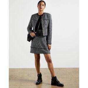 Ted Baker Boucle Jacket  - Black - Size:  4 (UK 14)