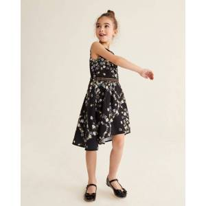 Ted Baker Opal Sleeveless Dress  - Black - Size: 7 Years
