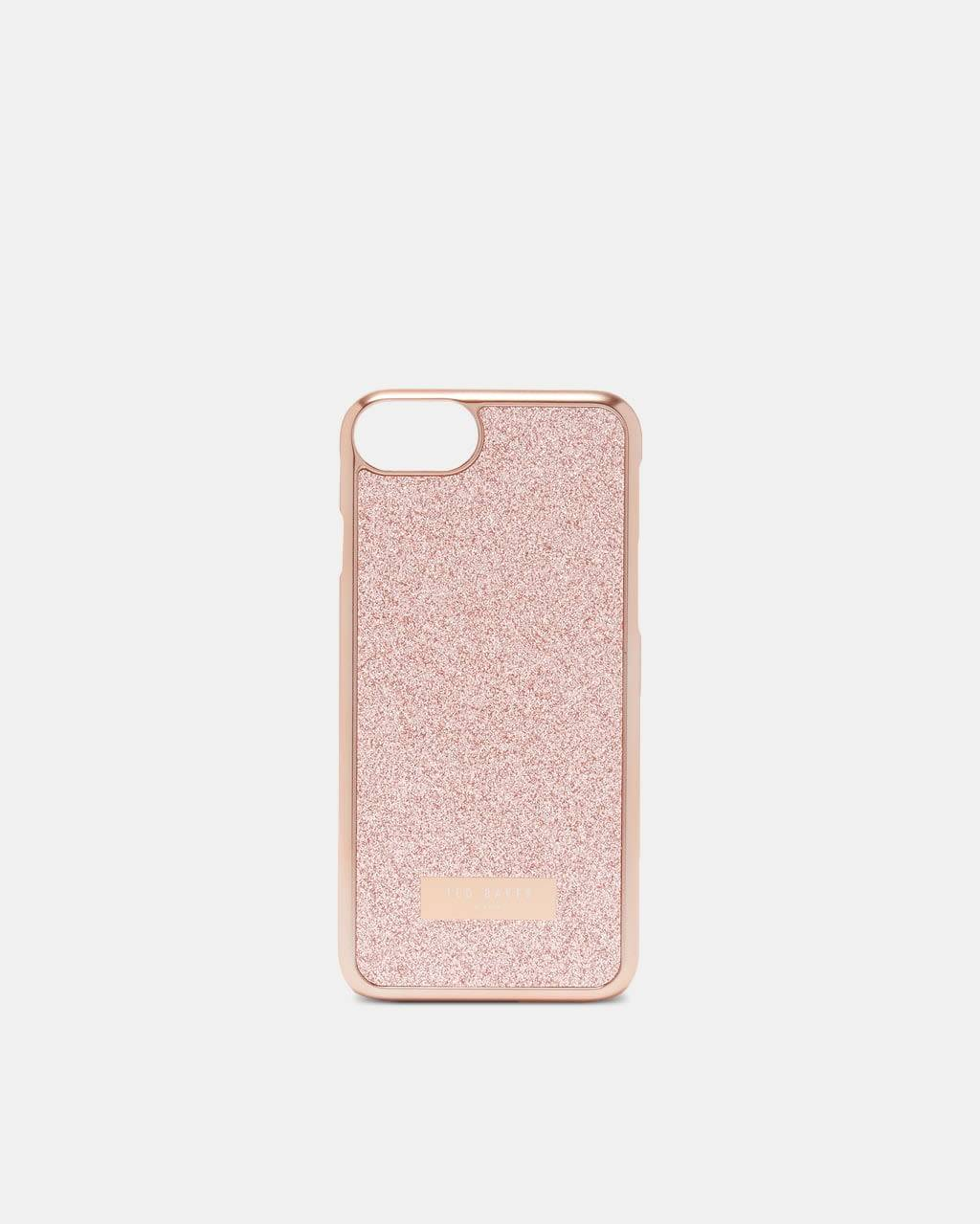 Ted Baker Glitter Iphone 6/6s/7/8 Case  - Baby Pink - Size: One Size