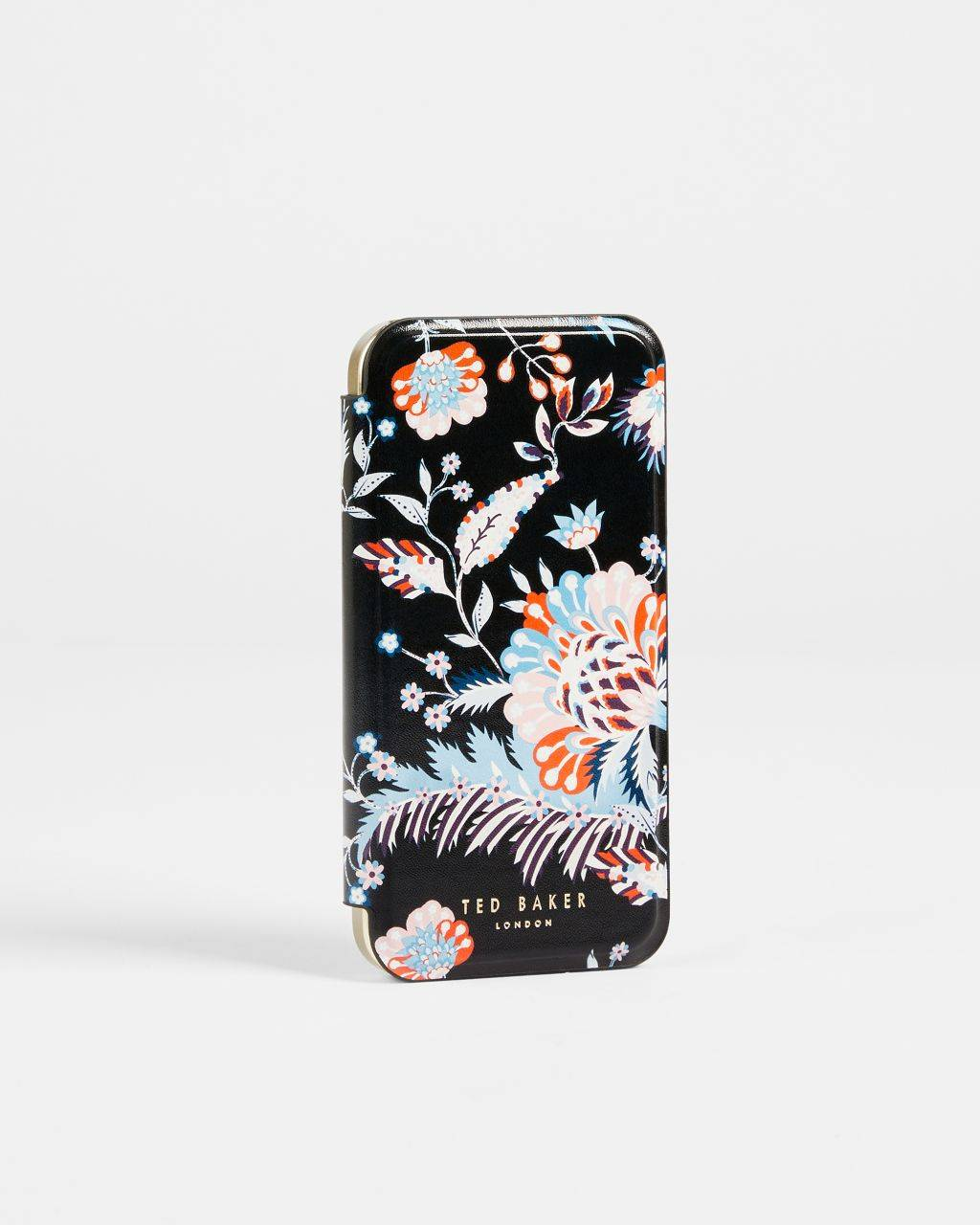 Ted Baker Spiced Up Iphone 12 / 12 Pro Mirror Case  - Black - Size: One Size