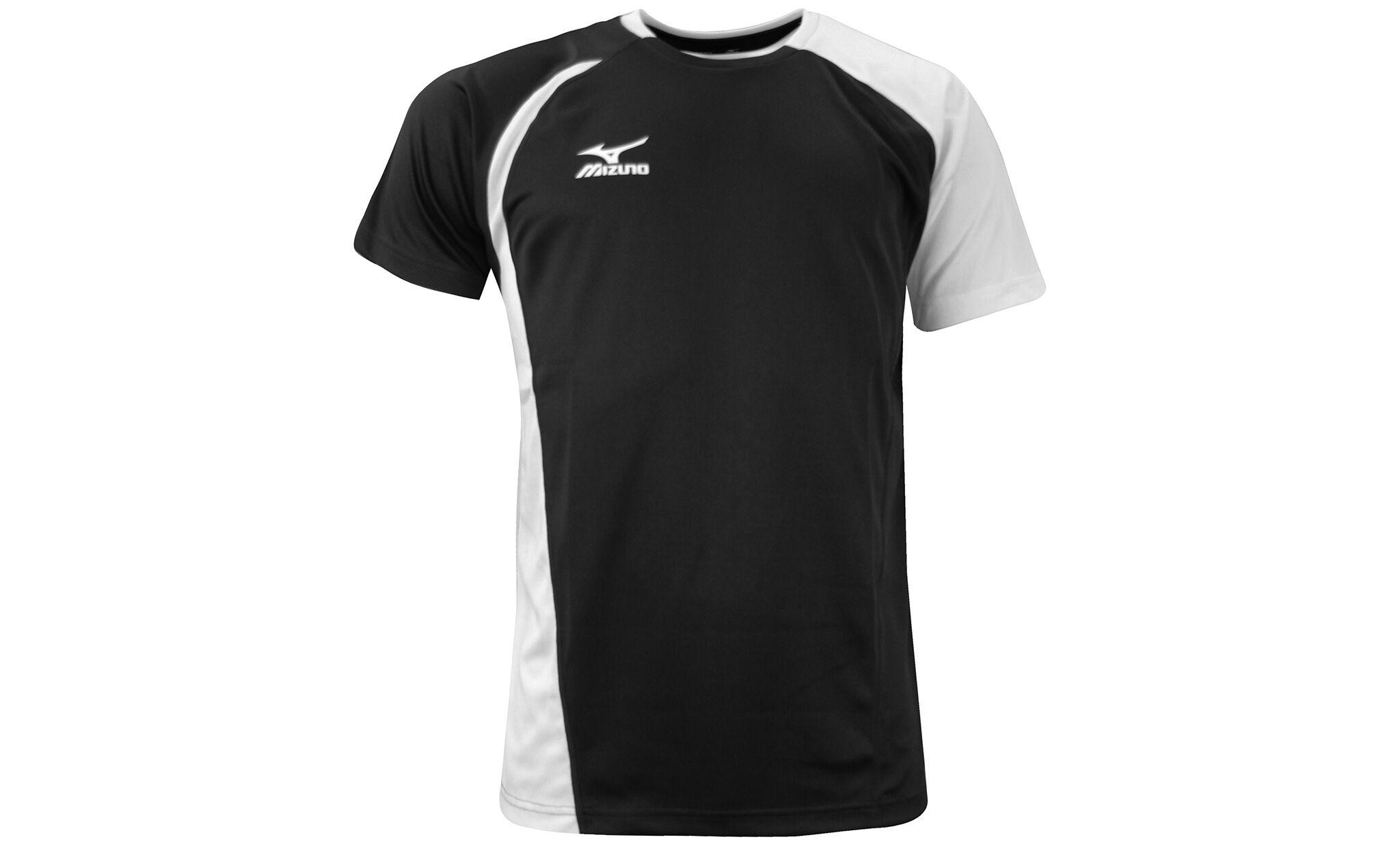 Mizuno Men's Mizuno Takeshi Tech T-Shirt: Black / Size M